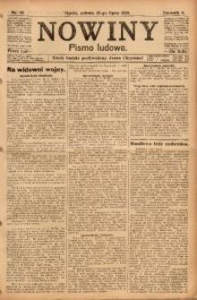 Nowiny, 1916, R. 6, nr 83