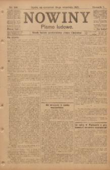 Nowiny, 1917, R. 7, nr 144