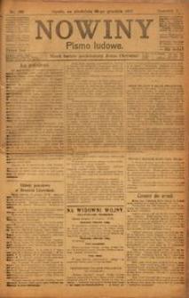 Nowiny, 1917, R. 7, nr 199