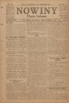 Nowiny, 1917, R. 7, nr 174