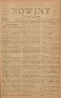 Nowiny, 1918, R. 8, nr 17