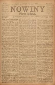 Nowiny, 1918, R. 8, nr 37