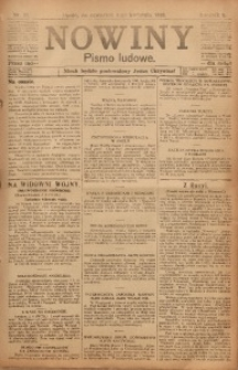 Nowiny, 1918, R. 8, nr 51