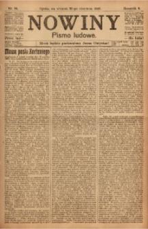 Nowiny, 1918, R. 8, nr 95