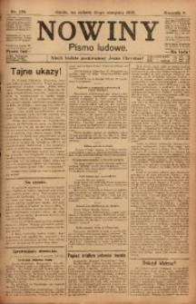 Nowiny, 1918, R. 8, nr 120