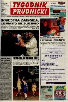 Tygodnik Prudnicki : gazeta powiatowa : Prudnik, Biała, Głogówek, Lubrza. R. 12, nr 2 (529).