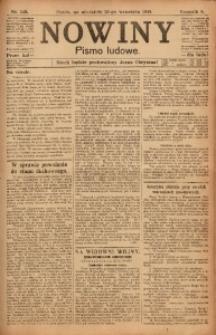 Nowiny, 1918, R. 8, nr 145