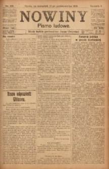 Nowiny, 1918, R. 8, nr 159