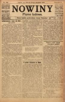 Nowiny, 1918, R. 8, nr 196