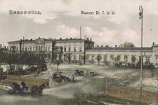 Sosnowiec. Dworzec Dr. Ż. W. W.