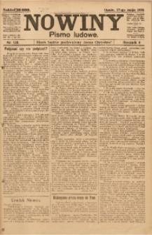 Nowiny, 1919, R. 9, nr 113