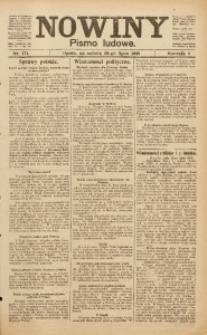 Nowiny, 1919, R. 9, nr 171