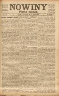 Nowiny, 1919, R. 9, nr 174
