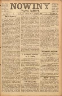 Nowiny, 1919, R. 9, nr 195