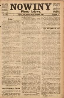 Nowiny, 1919, R. 9, nr 200