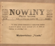 Nowiny, 1919, R. 9, nr 207