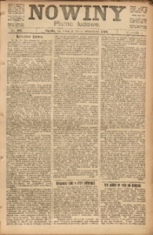 Nowiny, 1919, R. 9, nr 215