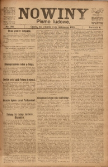 Nowiny, 1919, R. 9, nr 256