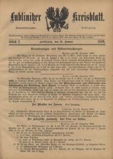 Lublinitzer Kreisblatt, 1894, Jg. 51, St. 2