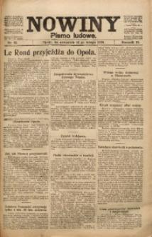 Nowiny, 1920, R. 10, nr 32