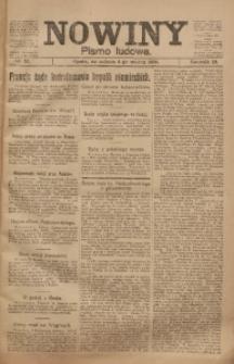 Nowiny, 1920, R. 10, nr 52