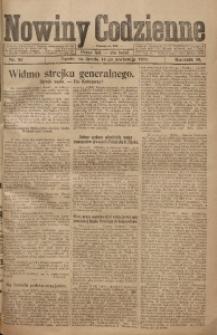 Nowiny Codzienne, 1920, R. 10, nr 82