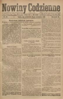 Nowiny Codzienne, 1920, R. 10, nr 95