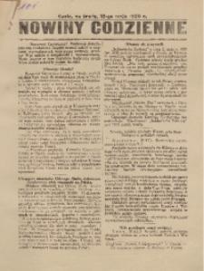 Nowiny Codzienne, 1920, R. 10, nr 101