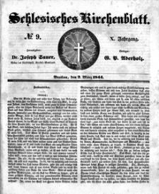 Schlesisches Kirchenblatt, 1844, Jg. 10, nr 9