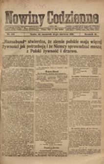 Nowiny Codzienne, 1920, R. 10, nr 119