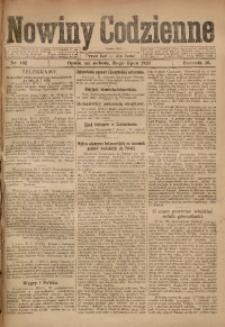 Nowiny Codzienne, 1920, R. 10, nr 162