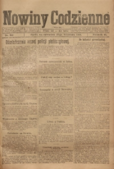 Nowiny Codzienne, 1920, R. 10, nr 202