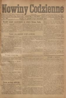 Nowiny Codzienne, 1920, R. 10, nr 203