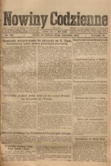 Nowiny Codzienne, 1920, R. 10, nr 204
