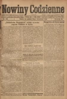Nowiny Codzienne, 1920, R. 10, nr 209