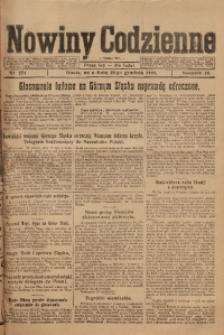 Nowiny Codzienne, 1920, R. 10, nr 279