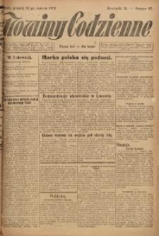 Nowiny Codzienne, 1923, R. 13, nr 67