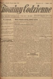 Nowiny Codzienne, 1923, R. 13, nr 109