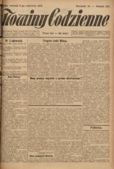 Nowiny Codzienne, 1923, R. 13, nr 125