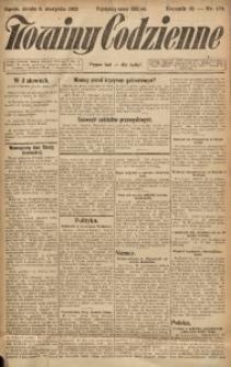 Nowiny Codzienne, 1923, R. 13, nr 179