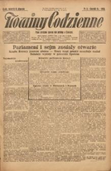 Nowiny Codzienne, 1925, R. 15, nr 5