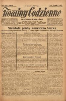 Nowiny Codzienne, 1925, R. 15, nr 6