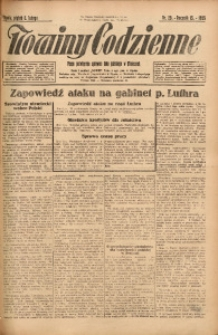 Nowiny Codzienne, 1925, R. 15, nr 29