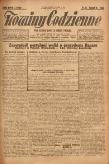 Nowiny Codzienne, 1925, R. 15, nr 38