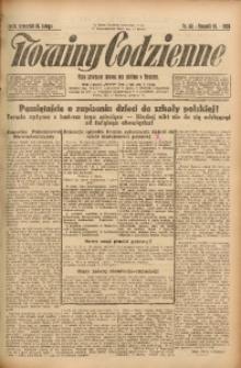 Nowiny Codzienne, 1925, R. 15, nr 40