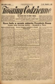 Nowiny Codzienne, 1925, R. 15, nr 66