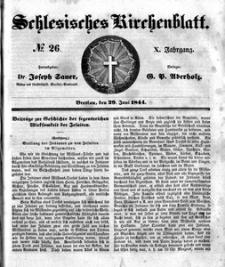 Schlesisches Kirchenblatt, 1844, Jg. 10, nr 26