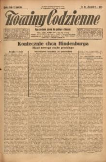 Nowiny Codzienne, 1925, R. 15, nr 80