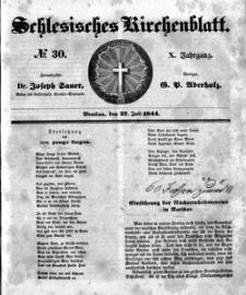 Schlesisches Kirchenblatt, 1844, Jg. 10, nr 30