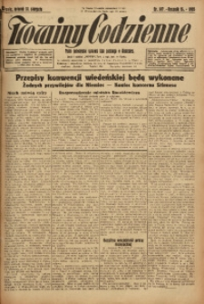 Nowiny Codzienne, 1925, R. 15, nr 187